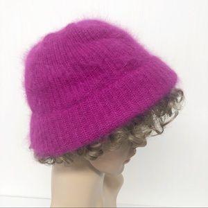 Vintage ARIS Angora and Wool Bucket Hat